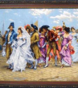 french bride silk